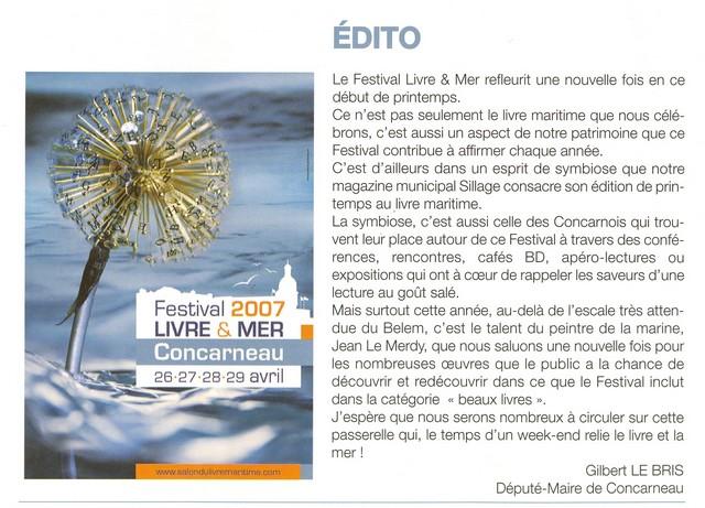 LE PORT DE CONCARNEAU - Volume 002 - Page 6 Festiv11