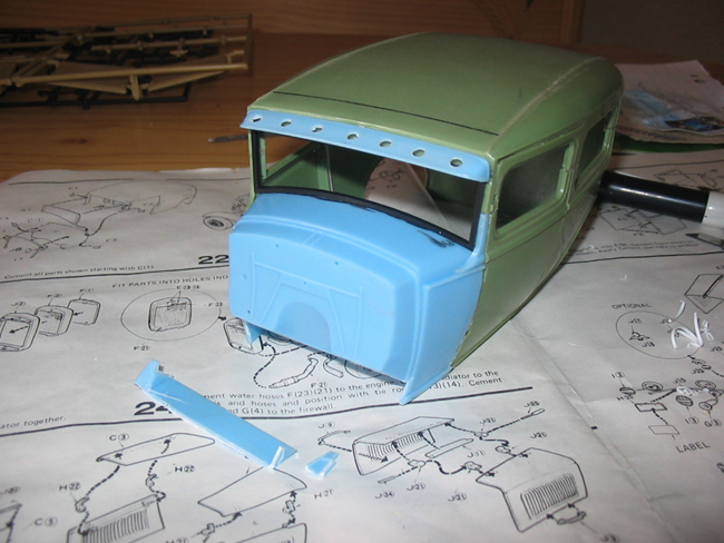 FORD Sedan nostalgia 1931... TERMINé Img_6219