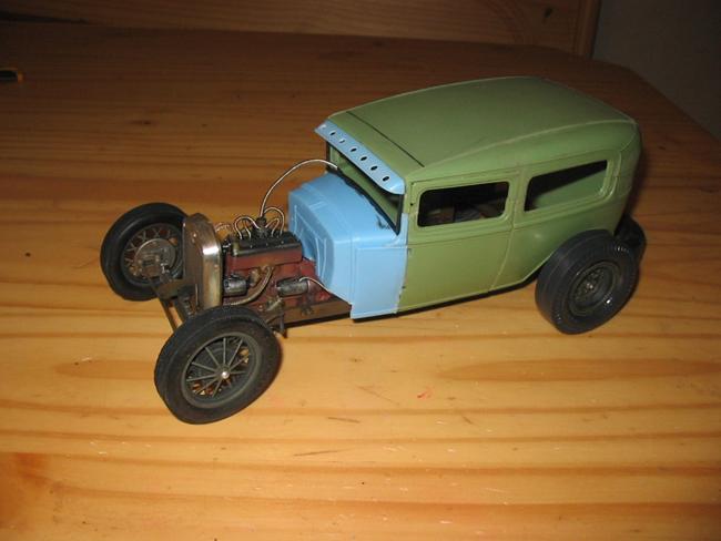 FORD Sedan nostalgia 1931... TERMINé Img_6234