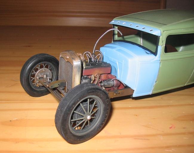FORD Sedan nostalgia 1931... TERMINé Img_6235