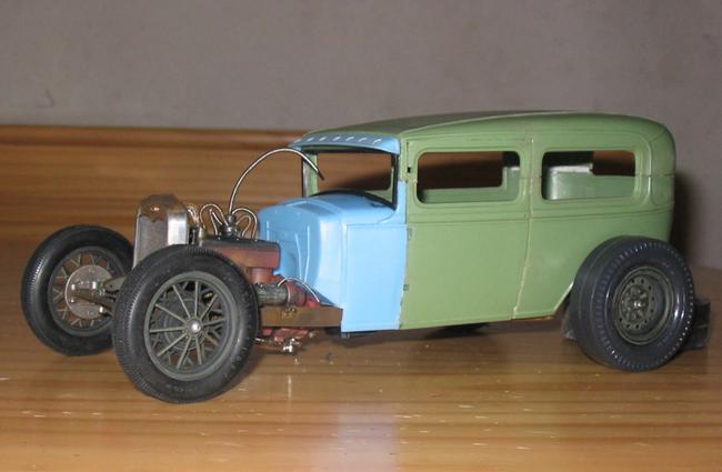 FORD Sedan nostalgia 1931... TERMINé Img_6236