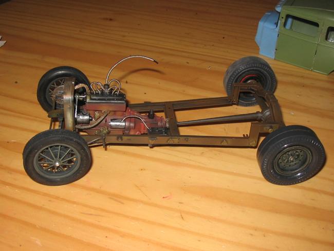 FORD Sedan nostalgia 1931... TERMINé Img_6238