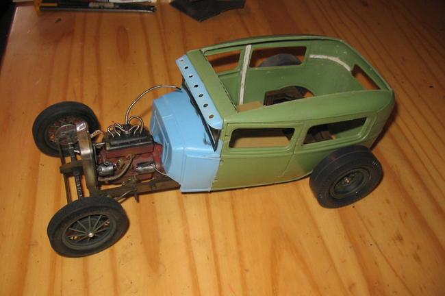 FORD Sedan nostalgia 1931... TERMINé Img_6239