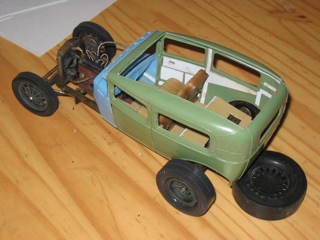 FORD Sedan nostalgia 1931... TERMINé Img_6241
