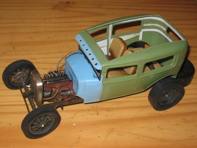 FORD Sedan nostalgia 1931... TERMINé Img_6242