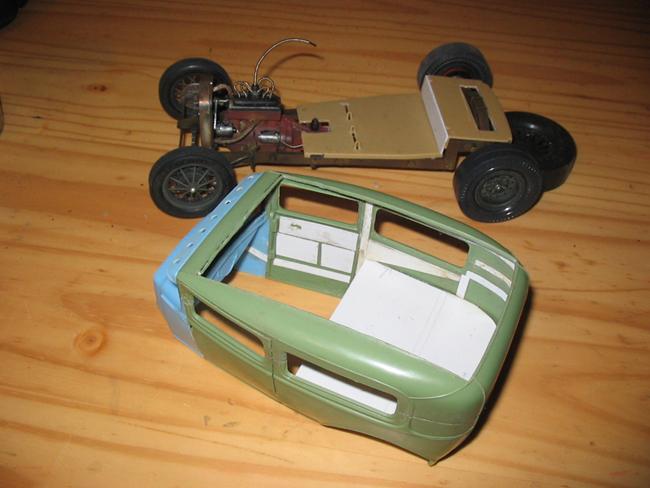 FORD Sedan nostalgia 1931... TERMINé Img_6244
