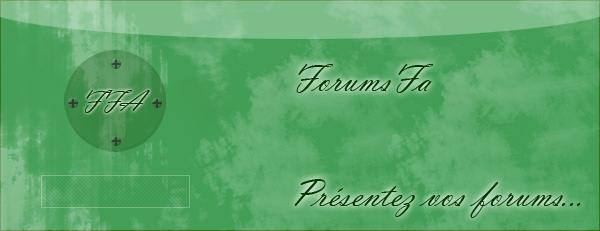 Les forums FA