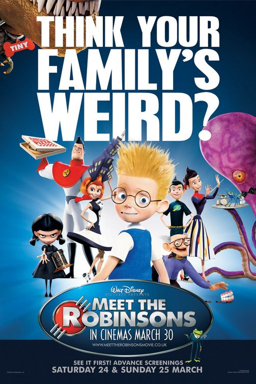 MEET THE ROBINSONS - 2007 - Poster10