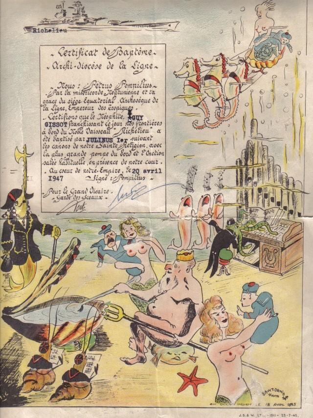 DEUX AMIS, DEUX MARINS Anciens du RICHELIEU - Page 2 Diplm10