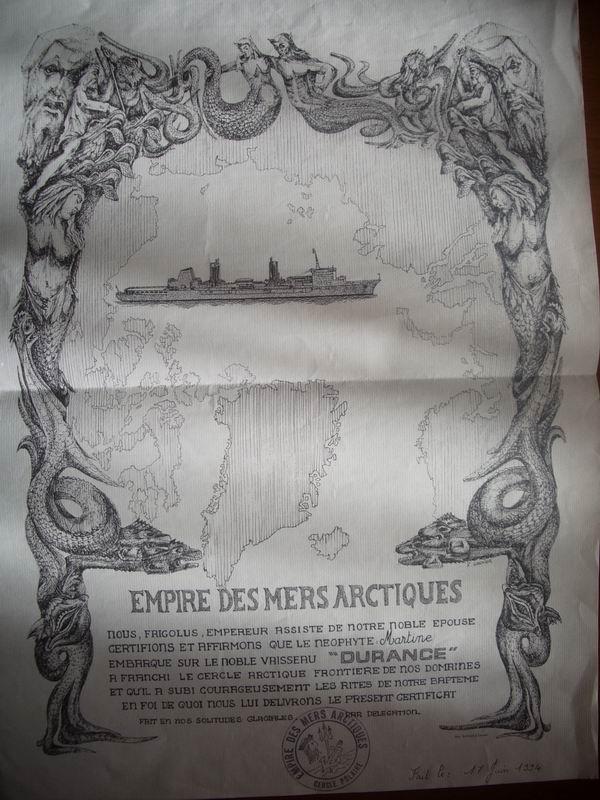 bapteme du cercle polaire - [Les traditions dans la Marine] Passage du cercle polaire (Sujet unique) Imgp1516
