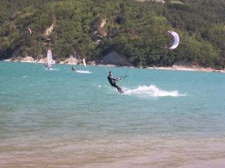 Photos Kitesurf Lac de monteynard Spa50810