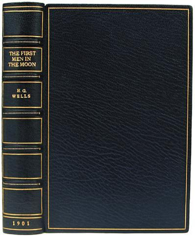 "Livre ""The first men IN the Moon"" de H.G. Wells 31750110"