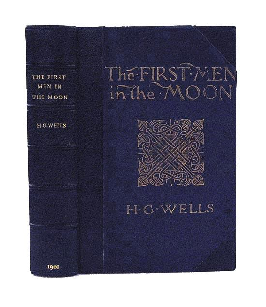 "Livre ""The first men IN the Moon"" de H.G. Wells 53676610"