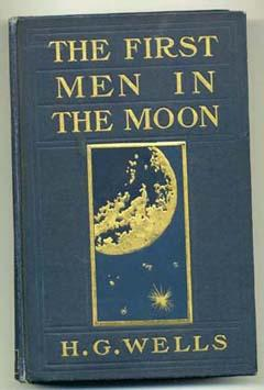 "Livre ""The first men IN the Moon"" de H.G. Wells 55617110"