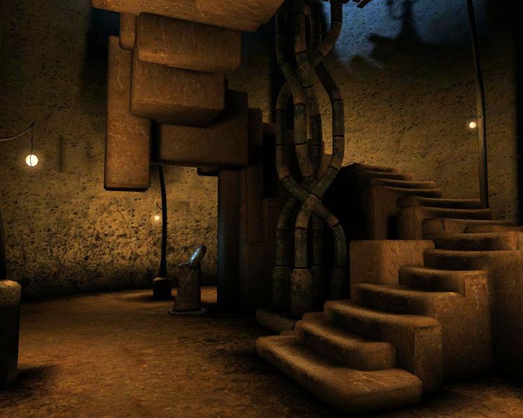 Une pièce au sous sol Myst5p15