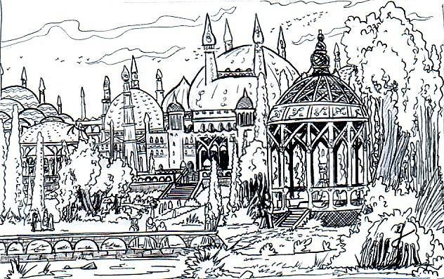 Le palais des conseillers, image Palais10