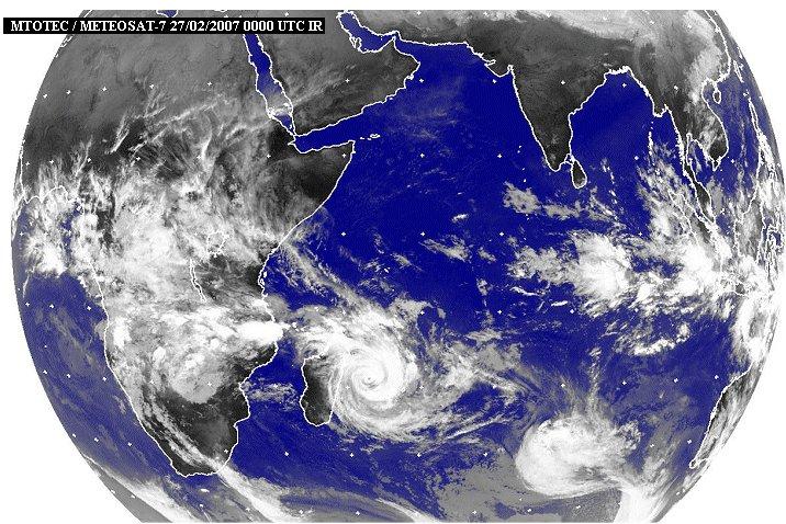 KMZ Cyclone Gamède Indien10