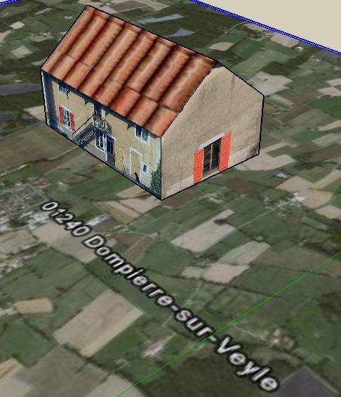 google earth , google Sketchup , et 3D Farm2_10