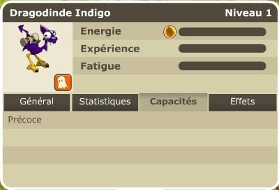 II. Les caractéristiques des dragodindes Capaci10