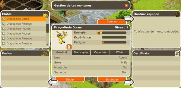 II. Les caractéristiques des dragodindes Enclos10