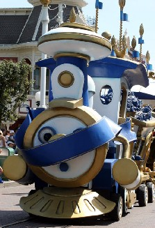 """Horaires """"Disney Characters Express"""" 77855810"""
