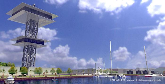 [Le Havre] Le futur Centre de la mer Tour_j10