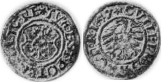 denario feodal Wilhem10