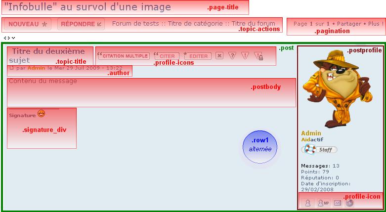 Principales atributos de CSS (phpBB2 y phpBB3) Phpbb316