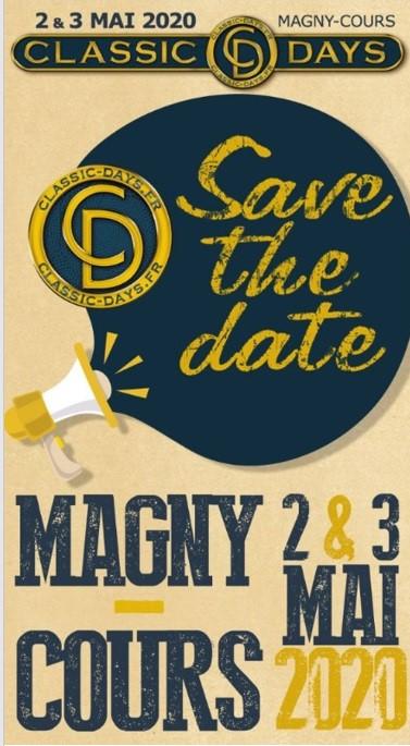 Classic Days 2020 - Magny-Cours, les 2 et 3 mai Affich18