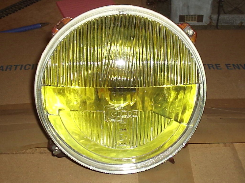 amber low beam headlights R17-ph11