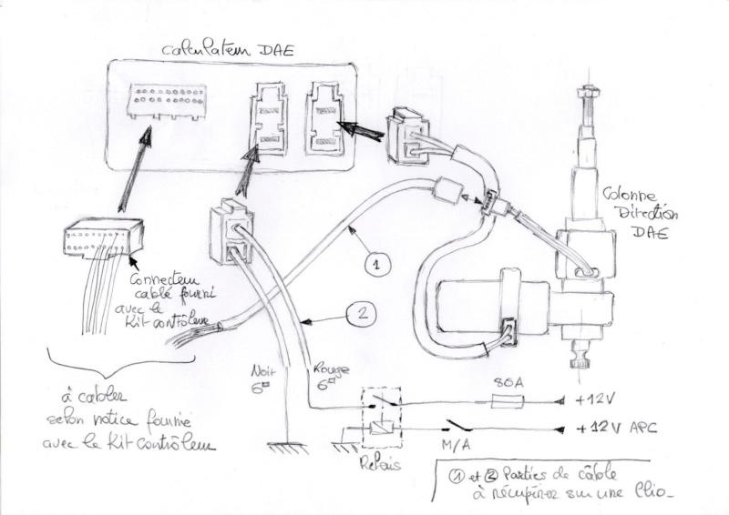 Direction Assistée Electrique (DAE) - Installation - Page 2 Schema11