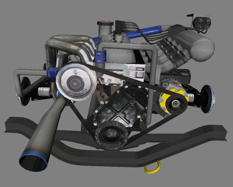 """[TERMINEE] SIMCA TURBO """"VONIC EDITION""""  reste les premiers tours de roues ! Motot10"""