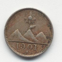 Guatemala, 1/4 de real, 1901 C_a_a10