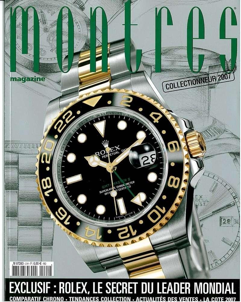 Revue de presse : Montres magazine (HS n°2 - 2007) S-070210