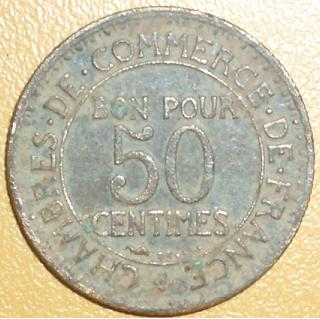 50 centimes.  comerce industrie France11