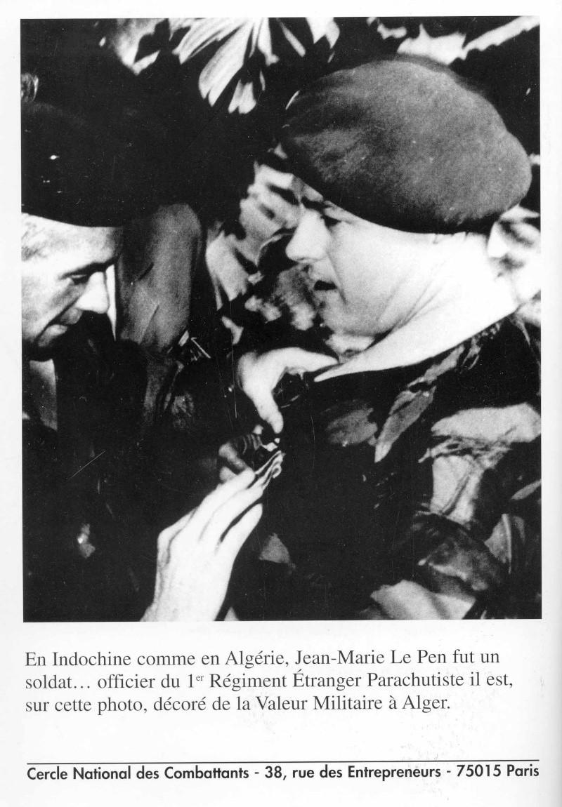 LE PEN jean-Marie le militaire, l'officier parachutiste Lepen_10