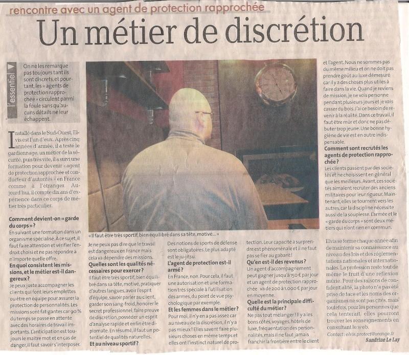 Les militaires ont été désarmés durant la visite de François Hollande à Olivet Protec11