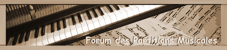 Forum des Partitions Musicales