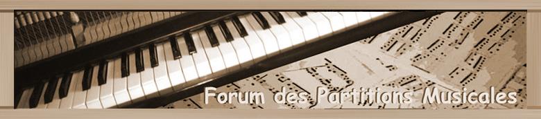 Forum des Partitions Musicales