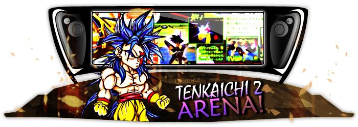 Ultimate Tenkaichi 2 arèna!