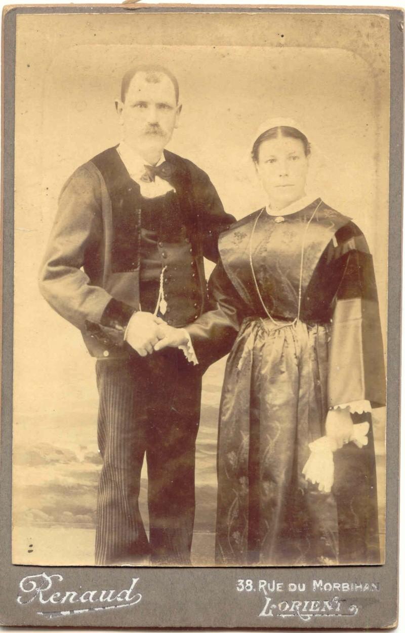 costume de Lorient et ses environs... Couple12