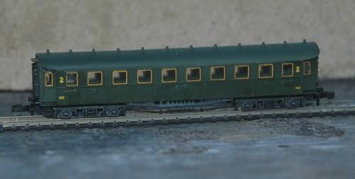 Rame  voitures C4u B8-snc10