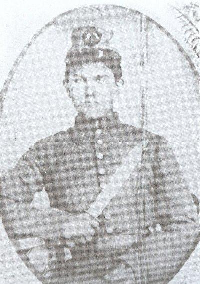 Galerie photos d'époque: Combattants de la guerre civile US Pvt_jo11