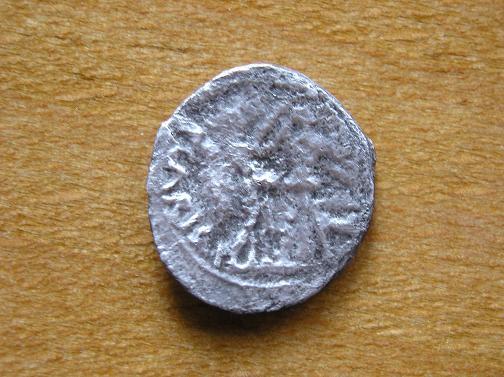Quinario de Emerita (por Augusto,  25-23 a.C.) Imagen11