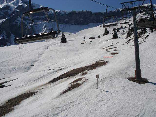 Slalom géant; Megève Rochebrune Côte 2000 Dsc01426
