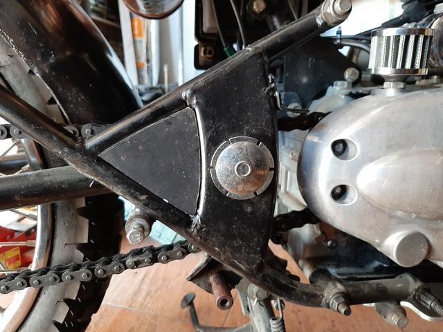 [RESOLU] Déplacer la pédale de frein arrière sur mon bobber+ commande reculée sélecteur tout le déroulé de la modiff....... 20200414