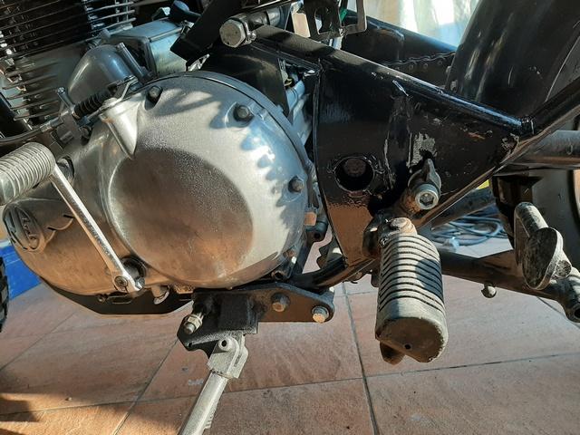 [RESOLU] Déplacer la pédale de frein arrière sur mon bobber+ commande reculée sélecteur tout le déroulé de la modiff....... 20200417