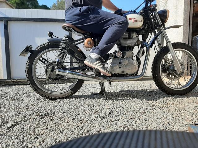 [RESOLU] Déplacer la pédale de frein arrière sur mon bobber+ commande reculée sélecteur tout le déroulé de la modiff....... 20200422
