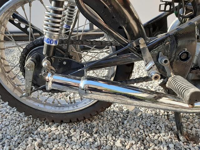 [RESOLU] Déplacer la pédale de frein arrière sur mon bobber+ commande reculée sélecteur tout le déroulé de la modiff....... 20200425