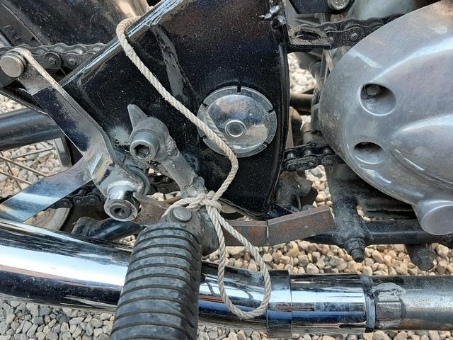 [RESOLU] Déplacer la pédale de frein arrière sur mon bobber+ commande reculée sélecteur tout le déroulé de la modiff....... 20200428